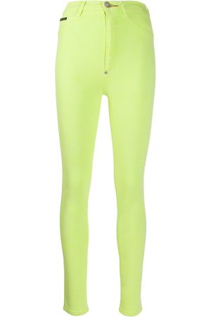 Philipp Plein Super high-waisted jeggings