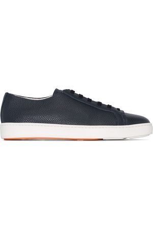 santoni Patent low-top sneakers
