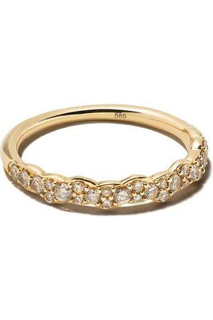 ASTLEY CLARKE 14kt gold Linia Interstellar ring