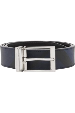 Burberry Reversible London Check belt