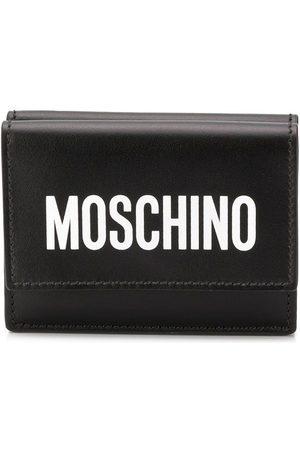 Moschino Women Wallets - Logo print card holder