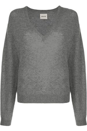 Khaite Women Jumpers - Sam relaxed-fit wool jumper