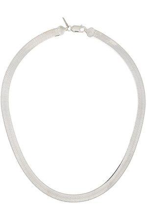 LOREN STEWART Herringbone sterling necklace