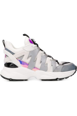 Michael Kors Hero Mixed-Media sneakers
