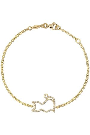 Kiki Mcdonough Women Bracelets - 18kt Memories diamond-set cat bracelet