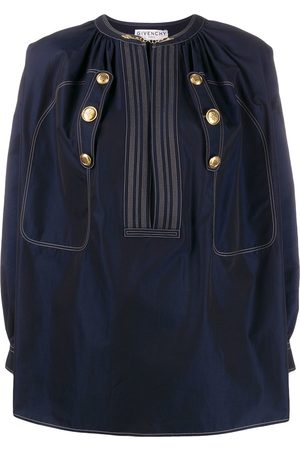 Givenchy Embossed buttons blouse