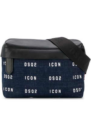 Dsquared2 Logo-printed denim belt bag
