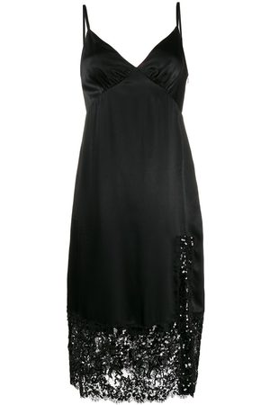 Michael Kors Sequin embellished slip dress