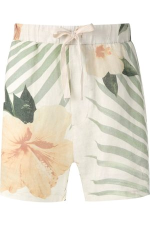 OSKLEN Side pockets printed shorts