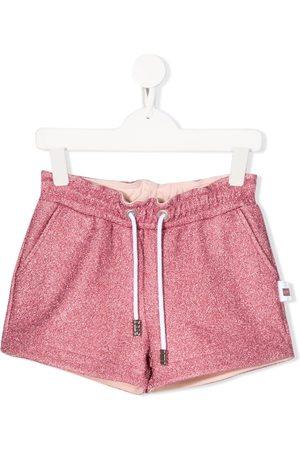 Gcds Kids Glitter detail shorts
