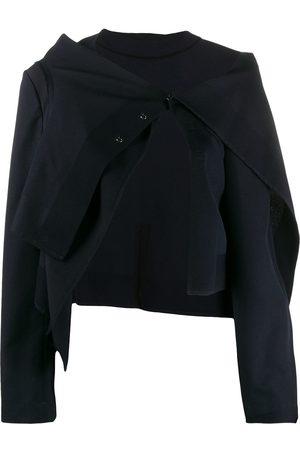 Comme des Garçons 2000s asymmetric bolero jacket
