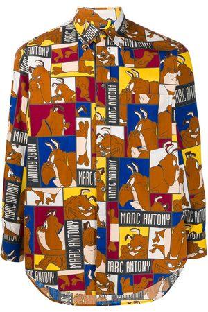 JC DE CASTELBAJAC 1980s Marc Antony print shirt