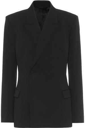 Balenciaga Waisted stretch-wool blazer