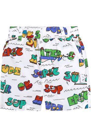 Stella McCartney Baby printed cotton shorts