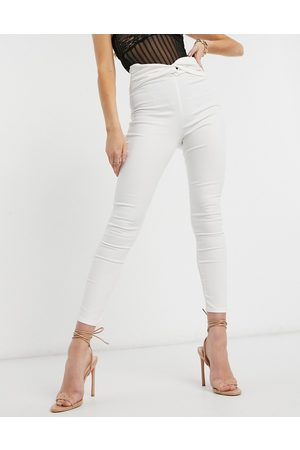 ASOS Rivington with knot front belt detail in