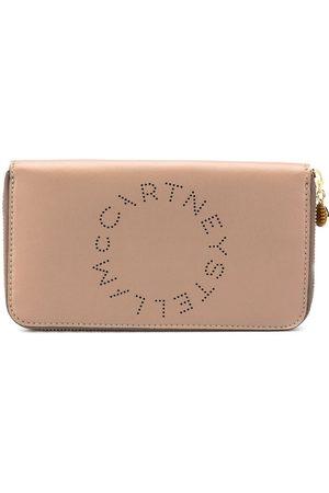 Stella McCartney Logo zip-around wallet