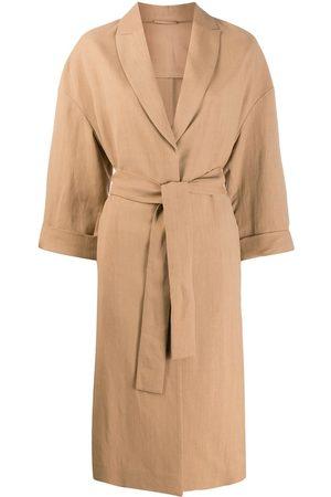 Brunello Cucinelli Long-length belted coat