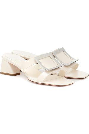 Roger Vivier Bikiviv' 45 leather sandals