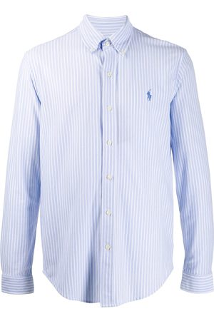 Ralph Lauren Embroidered logo striped shirt
