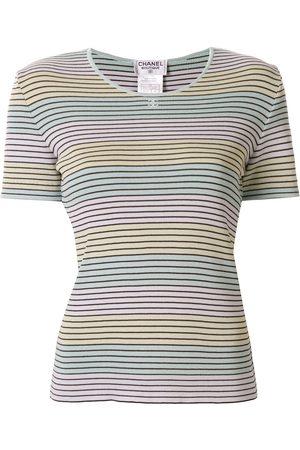 CHANEL Women Short Sleeve - 1998 striped T-shirt