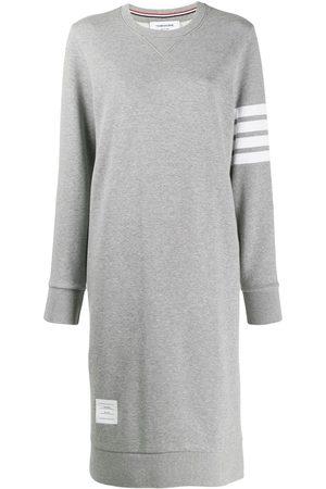 Thom Browne 4-bar Below Knee Sweater Dress
