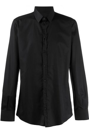 Dolce & Gabbana Men Long sleeves - Pinstripe long-sleeve shirt