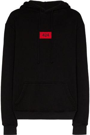 424 FAIRFAX Logo patch hoodie