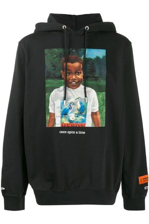 Heron Preston Once Upon A Time printed hoodie