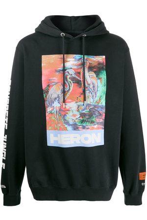 Heron Preston Logo print hoodie