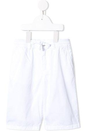 Dolce & Gabbana Logo-embroidered bermuda shorts