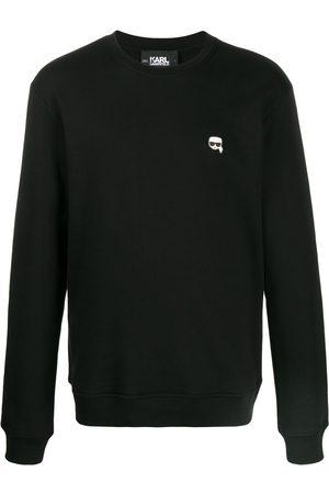 Karl Lagerfeld Men Sweatshirts - Rubber patch sweatshirt