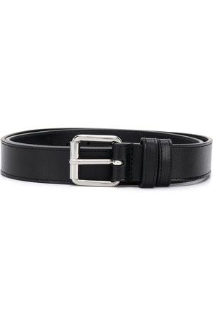 Comme des Garçons Belts - Square-tip leather belt