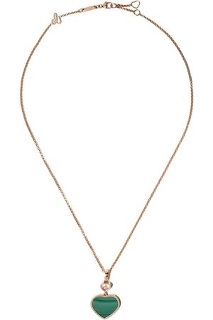 Chopard 18kt diamond Happy Hearts necklace