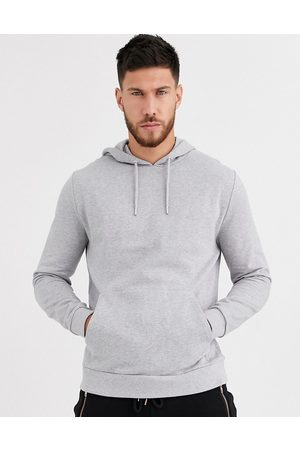 ASOS Men Hoodies - Organic hoodie in marl