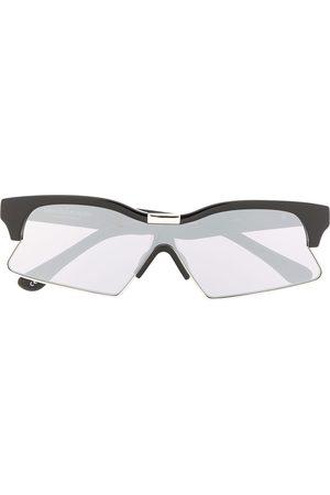 MARCELO BURLON 3 Special rectangular-frame sunglasses