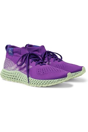 adidas Pharrell Williams 4D Runner Embroidered Primeknit Sneakers