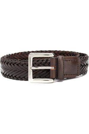 Scarosso Braided buckled belt