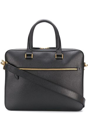Salvatore Ferragamo Logo embossed business bag