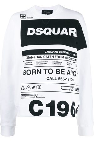 Dsquared2 Logo slogan print T-shirt