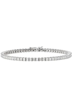 777 18kt white gold diamond bracelet