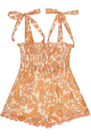 ZIMMERMANN Baby Printed Dresses - Peggy printed cotton playsuit