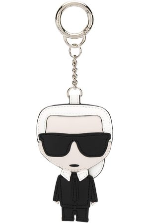 Karl Lagerfeld Karl embroidered keychain