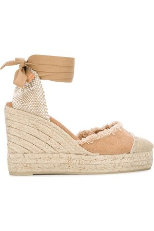Castaner Catalina frayed wedge espadrilles