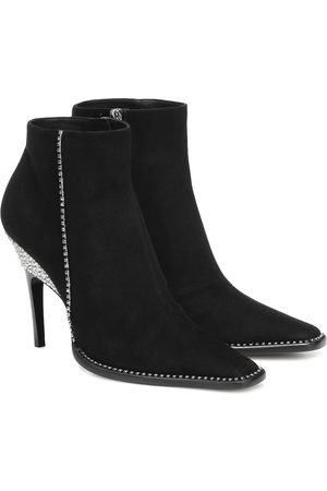 Jimmy choo Brecken 100 suede ankle boots