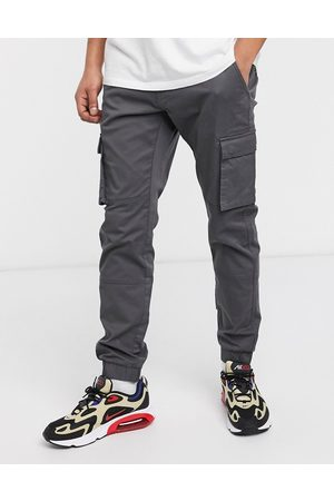 Only & Sons Men Slim fit cargo with cuffed bottom in