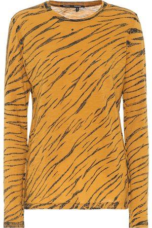 Proenza Schouler Animal-print cotton T-shirt
