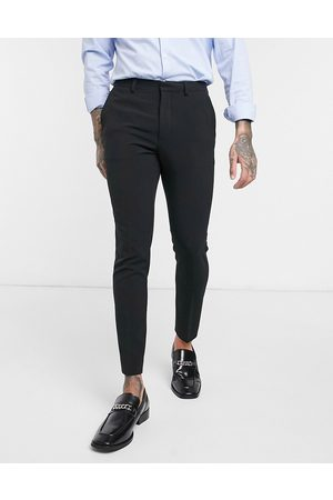 ASOS DESIGN Super skinny cropped smart trousers in