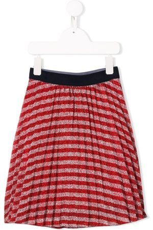 Little Marc Jacobs Striped pleated skirt