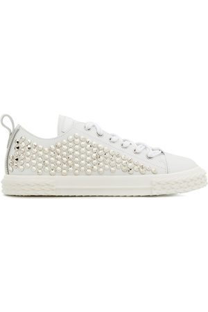 Giuseppe Zanotti Low top stud-embellished sneakers
