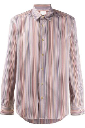 Paul Smith Striped long-sleeve shirt